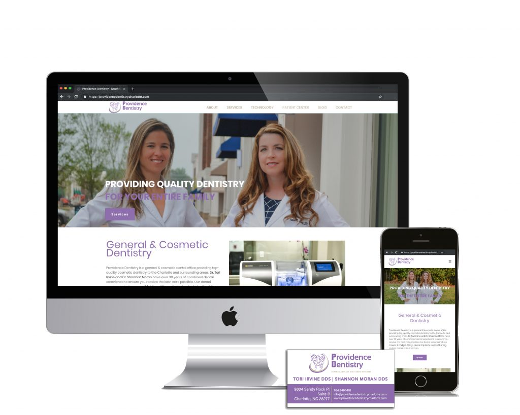 web design dental office